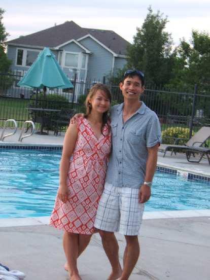 Felix Wong and Katia.