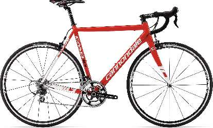 The new Cannondale CAAD10 in red/white.