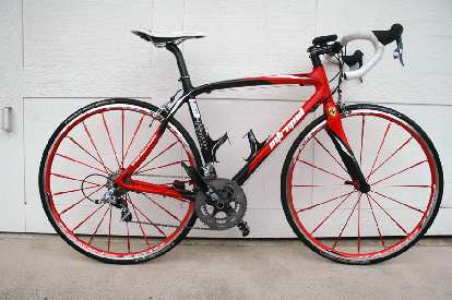 Another bike with swoopy lines: Neospazzy's Pedal Force RS2.