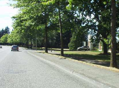 A greenway for running is along Lakeway Dr.