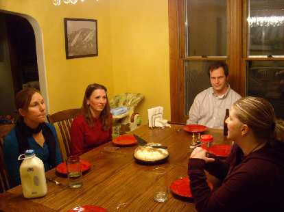 """The day before, we had a happy """"Bay Area Reunion"""" in Fort Collins including Lisa, Tori, Chris and Charis."""