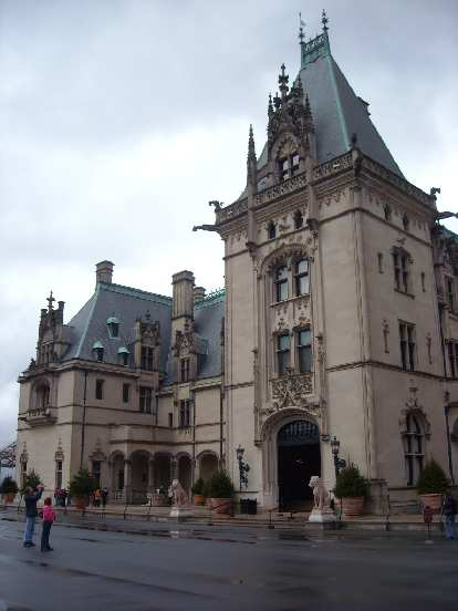Another view of the Biltmore house.