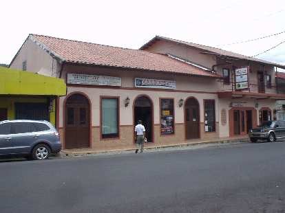 This Mailboxes Etc. was one of the only American chain stores in Boquete.