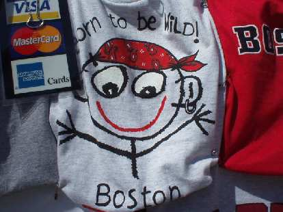 Back at Boston Common I kept trying to get Sharon to buy this *ABSOLUTELY GREAT* T-shirt for her niece Emmalee, but for some reason, she refused, getting her a T-shirt that had boring townhomes on it instead!