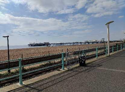 The Brighton Palace Pier.