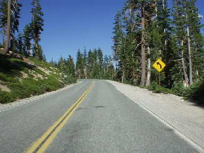 From Lassen Volcanic National Forest, Burney Falls is just about an hour north along CA-89.  Another great road, with sweeping turns and splendid scenery.
