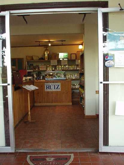 A Cafe Ruiz coffee shop.