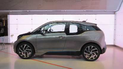 The new BMW i3.