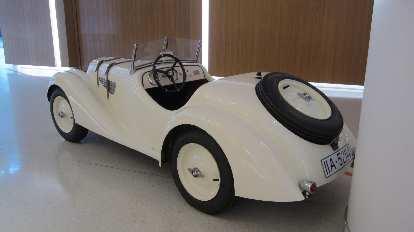 BMW pedal car.