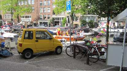 A Canta GLX in Amsterdam.