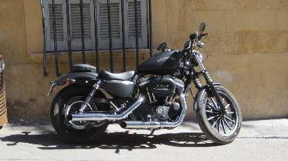A beautiful Harley-Davidson in Aix-en-Provence.
