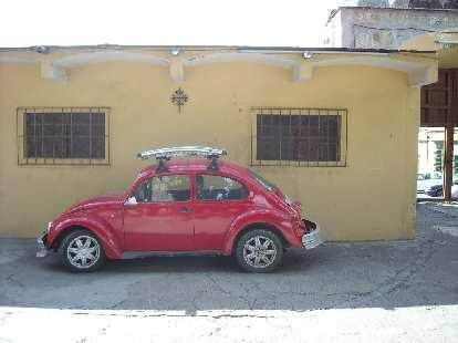 Another VW Beetle in Oaxaca.
