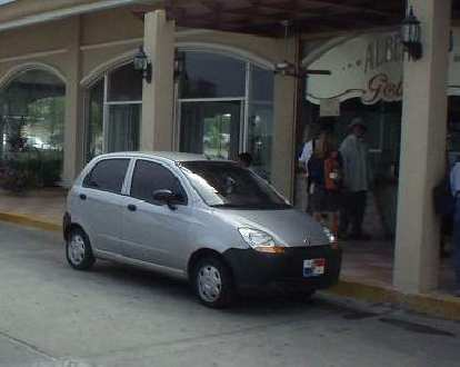 Chevy Spark.  I believe it is based off of the Daewoo Matiz.