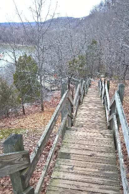 stairs, Castlewood State Park