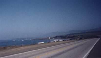 Highway 1, ocean, 1999 Central Coast Double Century