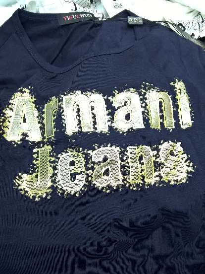 Armani Jeans counterfeit shirt