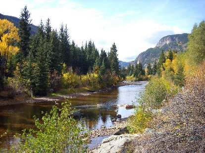 Poudre River again.