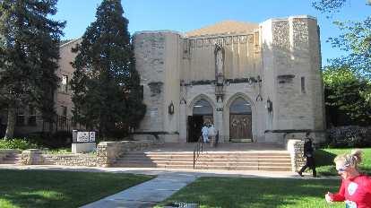 Blessed Sacrament church, Denver