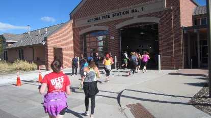 Aurora Fire Station No. 1, 2015 Colfax Half Marathon