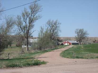 Farms in Kansas.