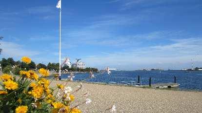 Harbor in Copenhagen.