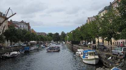 Canal in Copenhagen.