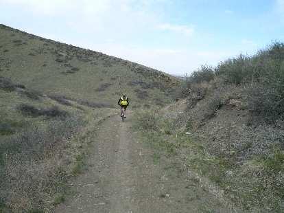 Coyote Ridge is popular with mountain bikers.