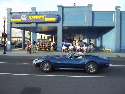 Corvettes came out in mass!  Here is a late 60s Stingray convertible.