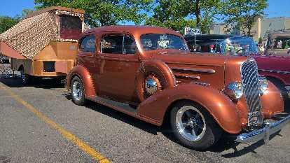 """A brown two-door wagon from the 1930s, I think. """"Looks like a PT Cruiser,"""" I'd later hear."""