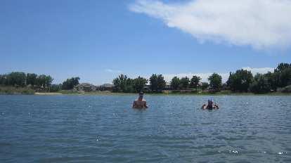 Thumbnail for Swimming & Kayaking in Richards Lake