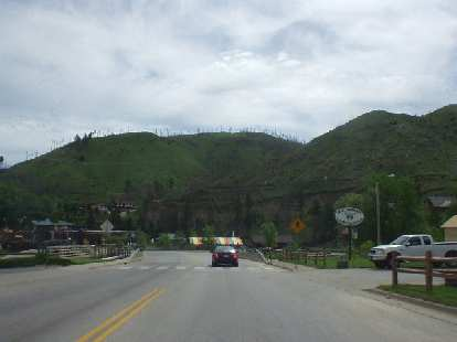 Situated in the Black Hills of South Dakota, it is in a really beautiful location.