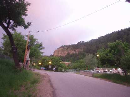 How the north part of Deadwood looks at 5:00 in the morning.
