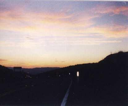 dusk, 2000 Death Valley Double Century