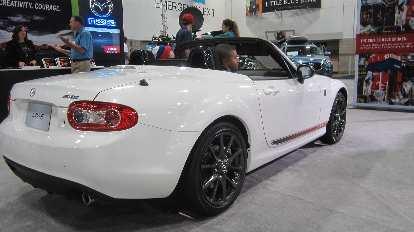 white 2015 Mazda MX-5