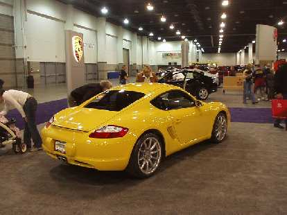 The new Cayman S is a good-looker too, though I never thought yellow was a good color for a Porsche.