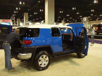 Another odd truck... the Toyota FJ Cruiser.