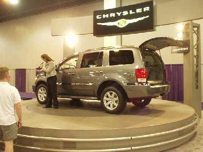 A Dodge Durango?  No, a Chrysler Aspen... one of the vehicles named for Colorado.