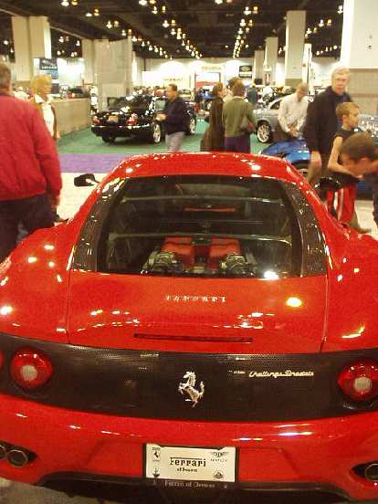 Even more gorgeous was the engine of the Ferrari Challenger Stradata.