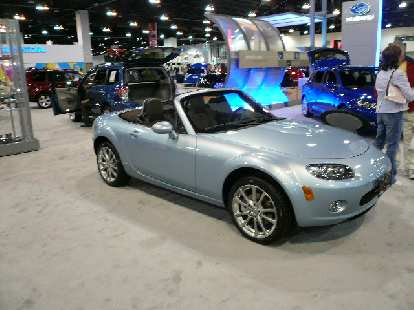 The 3rd generation Miata.  I liked this color (kind of a bluish metalic gray).