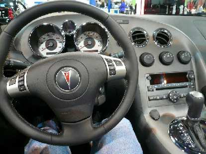 In contrast, I absolutely loved the interior of the Pontiac Solstice.