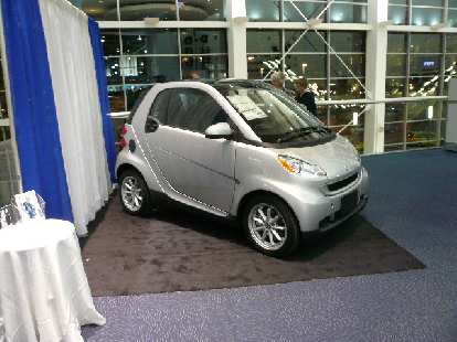 The Smart car is available in the U.S. for around $13k!