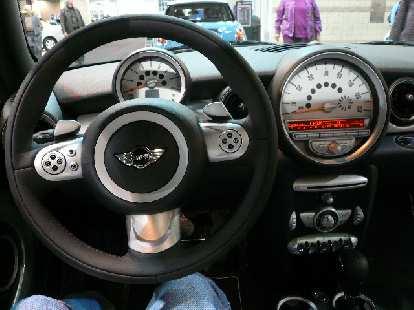 In contrast, the MINI's interior is fantastic.