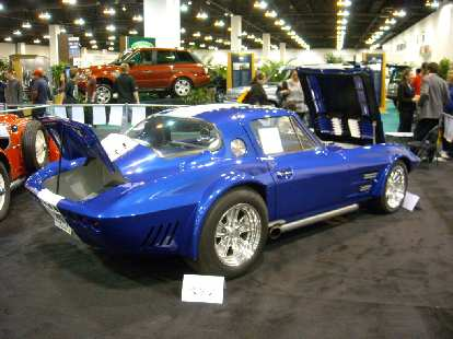 A classic Corvette Stingray.