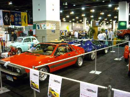 A Lancia Scropion and Pantera.