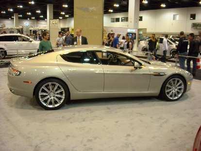 An Aston Martin Rapide.