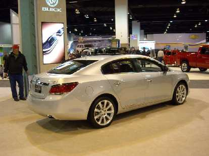 The Buick Lacrosse was really impressive.