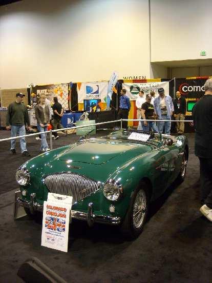 An Austin Healy 100!