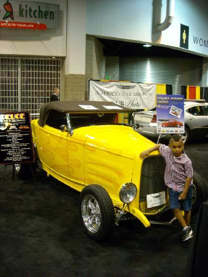 A Ford hot rod from the Depression era.