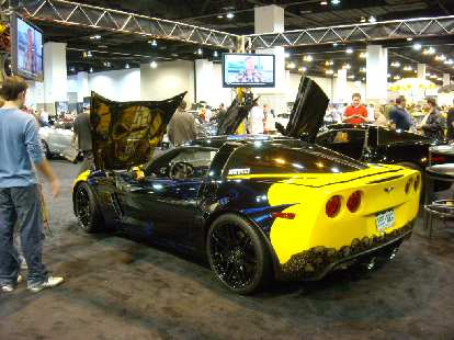 RUINED: a Corvette with a custom paint job.