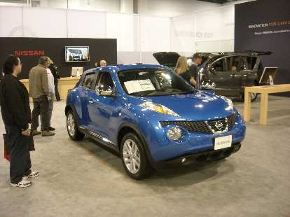 I really dig the new Nissan Juke as well.